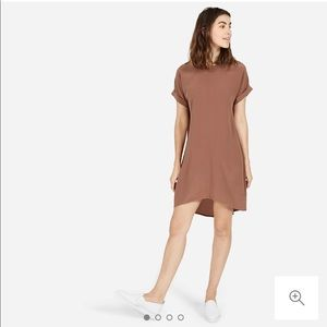 Everlane Silk Short-Sleeved Dress